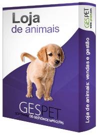 loja de animais software
